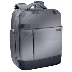 Rucsac LEITZ Complete pentru Laptop 15,6 inch, Smart Traveller - argintiu