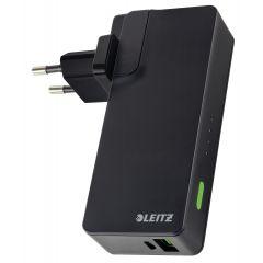 Incarcator si Baterie Leitz Complete port USB, 3000mAh, negru