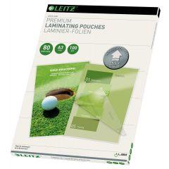 Folie LEITZ UDT pentru laminare la cald,  A3,  80 microni 100 folii/top