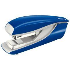 Capsator metalic LEITZ 5505 NeXXt Series, 30 coli, capsare plata, 200 capse P3 incluse, albastru