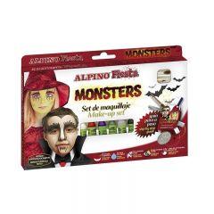 Set ALPINO Fiesta - Horror, 6 culori x 5gr. make up sticks