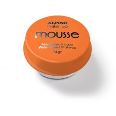 Spuma machiaj, 14gr., ALPINO Make-Up Mousse - portocalie