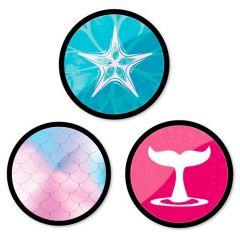 Insigne, 3buc/set, Roller NIKIDOM - Mermaid