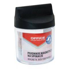 Dispenser magnetic pentru agrafe, D58xh68mm, Office Products