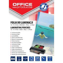 Folie pentru laminare,    A6 100 microni 100buc/top Office Products