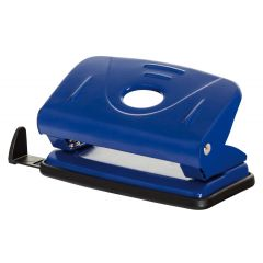 Perforator metalic, 12 coli, Office Products - albastru