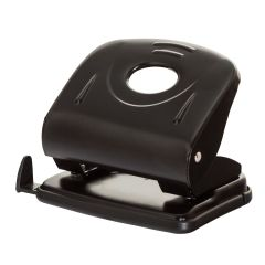 Perforator metalic, 30 coli, Office Products - negru