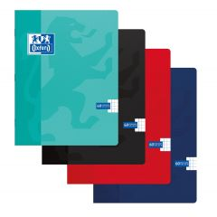 Caiet A5, OXFORD School, 60 file - 90g/mp, coperta carton soft - matematica