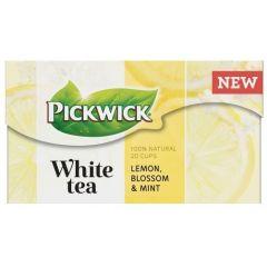 Ceai PICKWICK WHITE TEA - lamaie, flori si menta - 20 x 1,5 gr./pachet