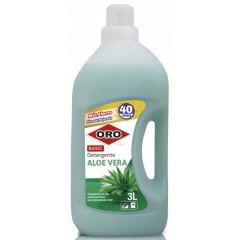 Detergent rufe, 3 litri, pentru masini automate, ORO Basic - Aloe Vera