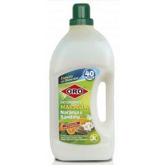 Detergent rufe, 3 litri, pentru masini automate, ORO Marsella - Orange & Sandal Wood