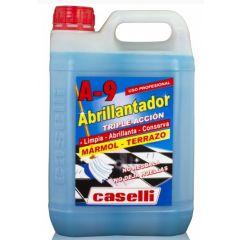 Detergent  Caselli - A9, curatare, polishare, stralucire, pt. marmura si granit, 5 litri -albastru