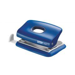 Perforator plastic Rapid FC10, 10 coli, cutie, albastru