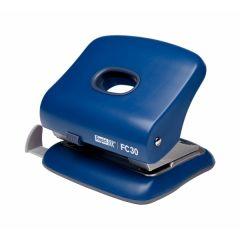 Perforator plastic RAPID FC30, 30 coli - albastru