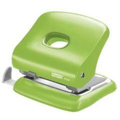 Perforator plastic Rapid FC30, 30 de coli, cutie, verde deschis
