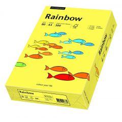 Hartie color copiator, A4,80gr/mp,500 coli/top,Rainbow - galben pastel 88042297