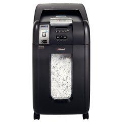 Distrugator Automat documente REXEL Auto+ 300X SmarTech, 300 coli, P4, cross-cut (confeti)