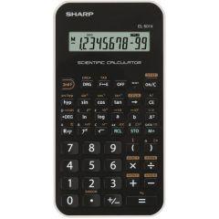 Calculator stiintific, 10 digits, 131 functiuni, 144 x  75 x 10 mm, SHARP EL-501XBWH - negru/alb