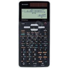 Calculator stiintific, 16 digits, 640 functiuni, 166x80x15 mm, dual power, SHARP EL-W506XSL-negru
