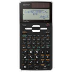 Calculator stiintific, 16 digits, 422 functiuni, 166x80x14 mm, dual power, SHARP EL-W531TGWH - alb