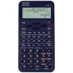 Calculator stiintific, 16 digits, 422 functiuni, 157x78x15 mm, SHARP EL-W531TL - albastru