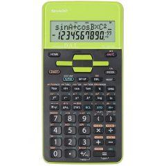 Calculator stiintific, 10 digits, 273 functiuni, 161x80x15mm, dual power, SHARP EL-531THGR-negru/ver