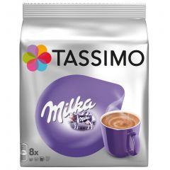 Capsule cu cafea Jacobs Tassimo milka - 8 capsule - 240gr/pachet