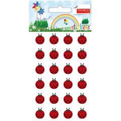 Stickere decorative, 24 buc/fila, 2 file/set, TANEX Kids - gargarite