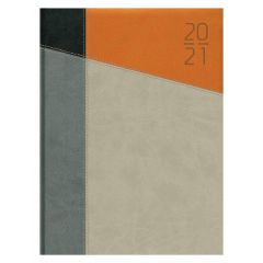 Agenda 17,5x22,5 cm;7 zile/2pag(144pag), BUSINESS - Impulse asortate