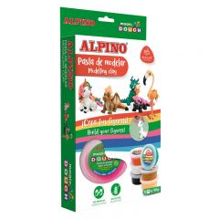 Plastilina magica ALPINO Magic Dough DIY - Animals individual