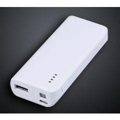 Baterie externa GRIXX - 5000mAh - alba