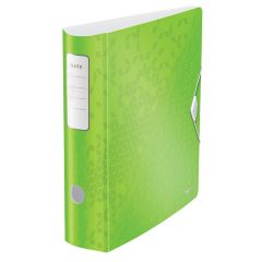 Biblioraft Leitz 180 Active WOW, polyfoam, A4, 82 mm, verde