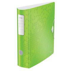 Biblioraft LEITZ 180 Active WOW, polyfoam, A4, 82 mm, verde