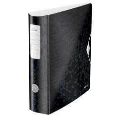 Biblioraft Leitz 180 Active WOW, polyfoam, A4, 82 mm, negru
