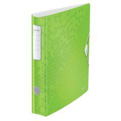 Biblioraft LEITZ 180 Active WOW, polyfoam, A4, 65 mm, verde