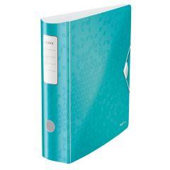 Biblioraft LEITZ 180 Active WOW, polyfoam, A4, 82 mm, turcoaz