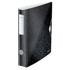 Biblioraft LEITZ 180 Active WOW, polyfoam, A4, 65 mm, negru