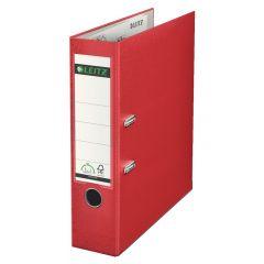 Biblioraft LEITZ 180, PP, A4, 80 mm, rosu