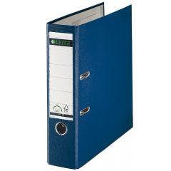 Biblioraft LEITZ 180, PP, A4, 80 mm, albastru
