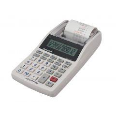 Calculator cu banda, 12 digits, SHARP EL-1611V - alb