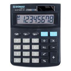 Calculator de birou, 8 digits, Donau Tech DT4081 - negru
