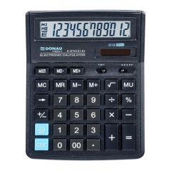 Calculator de birou, 12 digits, 193 x 143 x 38 mm, Donau Tech DT4121 - negru