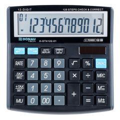Calculator de birou, 12 digits, Donau Tech DT4122 - negru