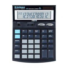 Calculator de birou, 12 digits, Donau Tech DT4123 - negru