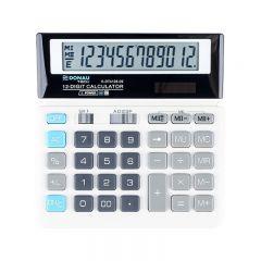 Calculator de birou, 12 digits, Donau Tech DT4126 - alb