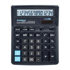 Calculator de birou, 14 digits, 193 x 143 x 38 mm, DonauTech DT4141- negru