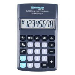 Calculator de buzunar, 8 digits, Donau Tech DT2087 - negru