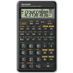 Calculator stiintific, 10 digits, 131 functiuni, 144 x  75 x 10 mm, SHARP EL-501TBWH - negru/alb