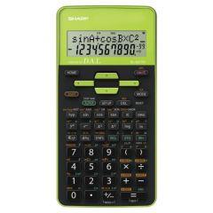 Calculator stiintific, 10 digits, 273 functiuni, 161x80x15mm, dual power, SHARP EL-531THBGR-negru/ve