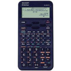 Calculator stiintific, 16 digits, 422 functiuni, 157x78x15 mm, SHARP EL-W531TLBBL - albastru